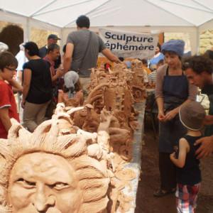 sculpture collective éphémère